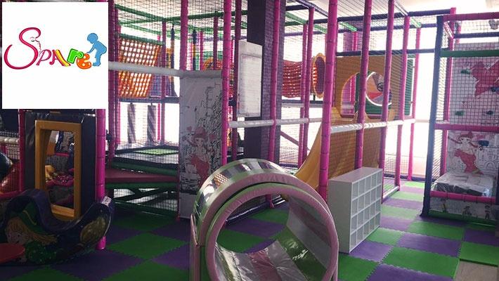 Mani-Pedi, Gelish & Acrylic Nails with Kids Playground ...