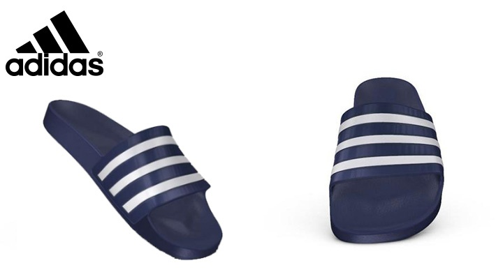 Adidas Unisex Dark Blue Swim Adilette
