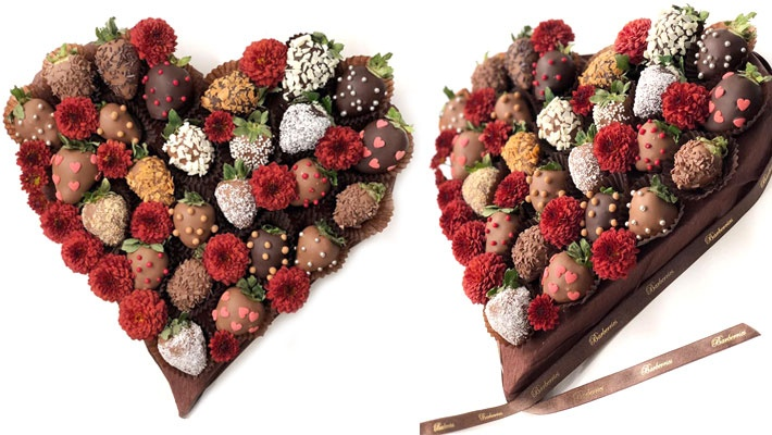 Valentine S Chocolate Dipped Strawberries Arrangement Gosawa Beirut Deal