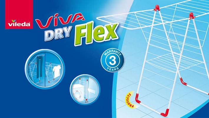 Vileda Viva Dry Flex Indoor Dryer Gosawa Beirut Deal